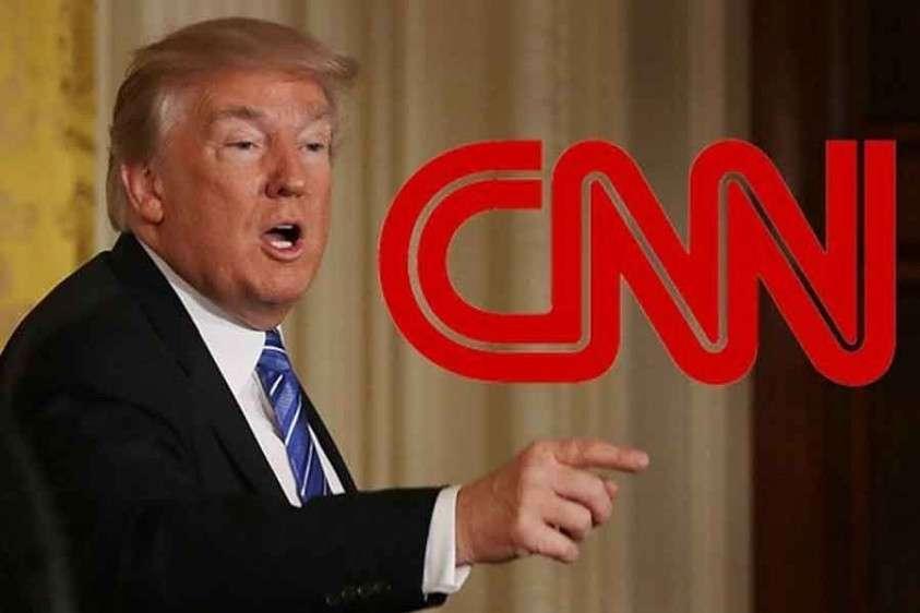 Трамп собрался закрыть вредительский и лживый канал CNN