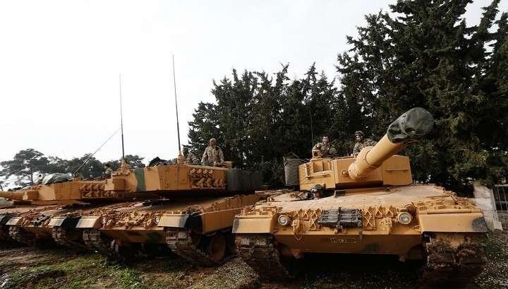 Турция стягивает к границе с Сирией бронетанковый кулак, курды ответят войной