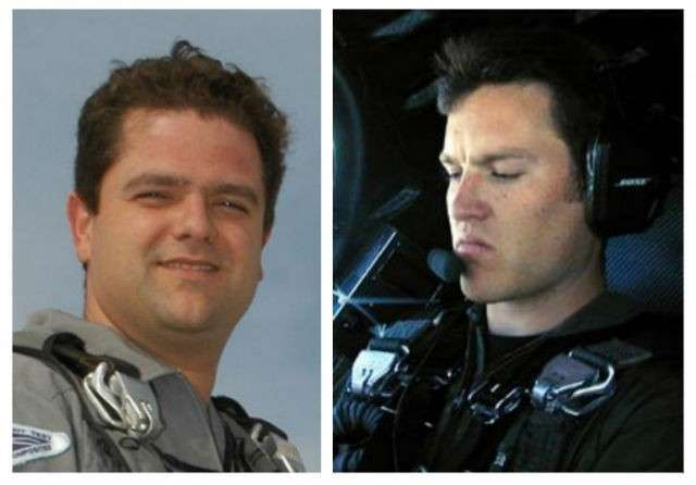 Пилоты корабля SpaceShipTwo: Питер Сиболд (слева, выжил) и Майкл Элсбери (справа, погиб) (фото NTSB).