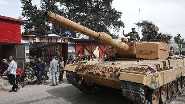 Турецкие военные в Африне, Сирия