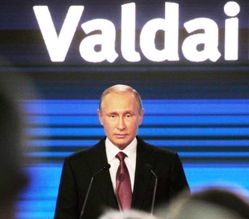 Владимир Путин вежливо приглашает Мир к большому евразийскому партнёрству