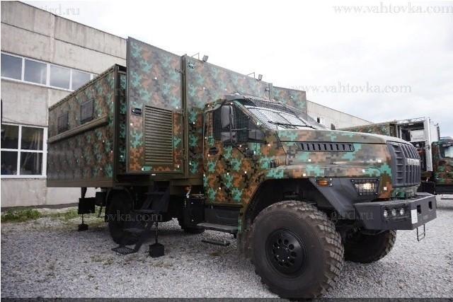 Россия отправила наФилиппины партию мобильных штабов-трансформеров набазе Урал Next