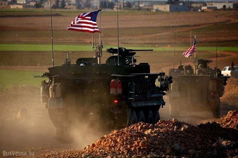 Армия США уходит из Сирии перед наступлением на курдов