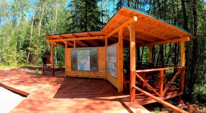 В Валдайском национальном парке в Новгородской области оборудована туристическая тропа длиной 59 км