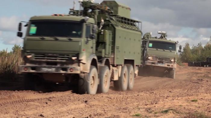Видео работы новейшего российского комплекса по противодействию БПЛА «Палантин-К»