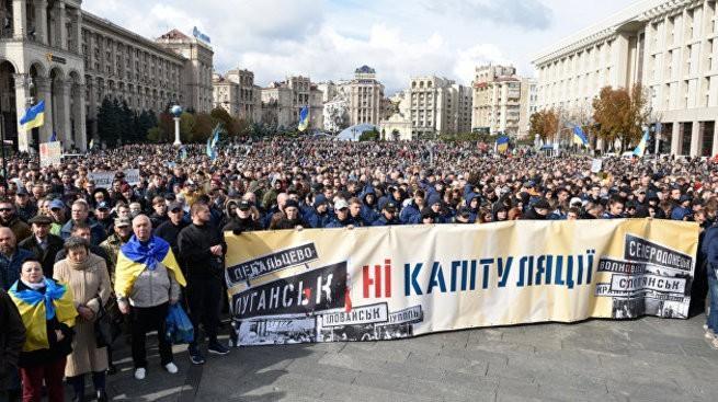 На Украине началась боевая осень: «восстание жёлтых повязок» против Зеленского