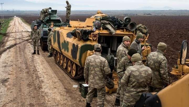Турецкие войска вторглись в Сирию! В ответ курды объявили мобилизацию