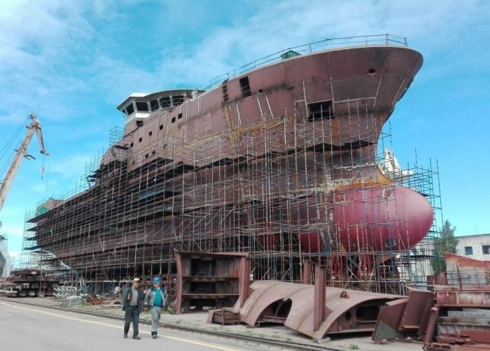 В России уже строят 25 современных судов для рыбаков
