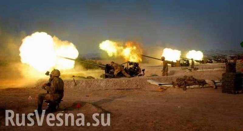 Турция в Сирии наносит массированные удары по союзникам США