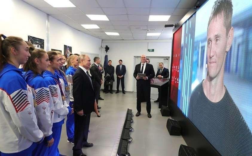 Владимир Путин встретился с руководителями международных спортивных организаций