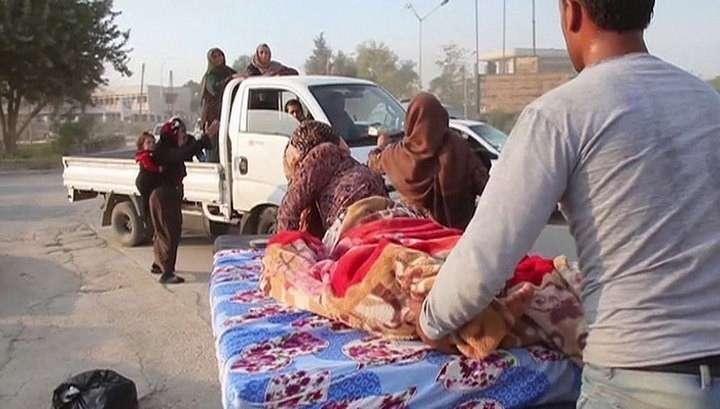 В результате военных ударов Турции погибло 17 мирных сирийцев