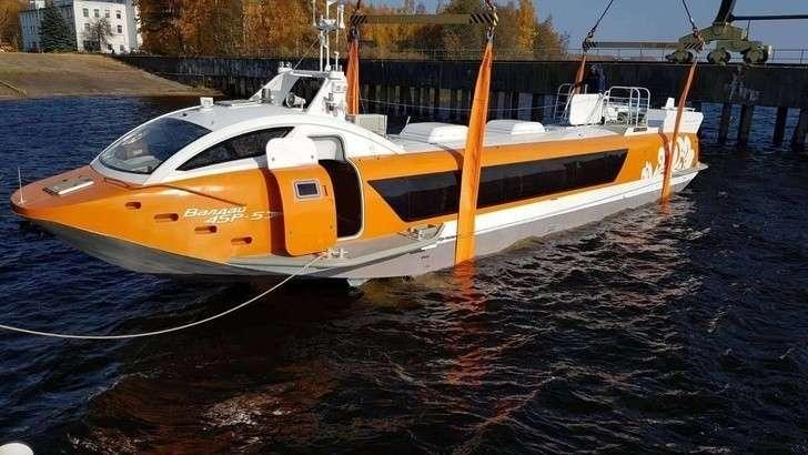 В Нижегородской области спущено на воду СПК «Валдай 45Р» С-505