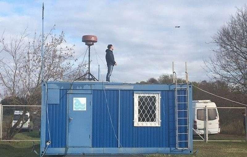 Систему слежения за дронами «ЕНОТ» протестировали в Дубне