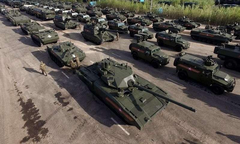 Российская армия учится беречь свою военную технику