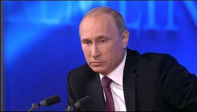 Владимир Путин указал на источник хаоса на Ближнем Востоке