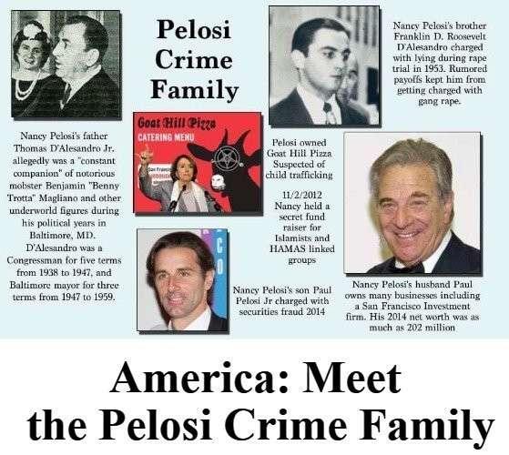 Криминальная семья Пелоси ничем не лучше воровского клана Байдена