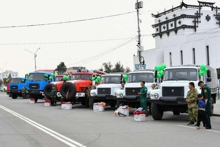 В Коми, Туву и Свердловскую область поступило 44 единицы лесопожарной и лесохозяйственной техники