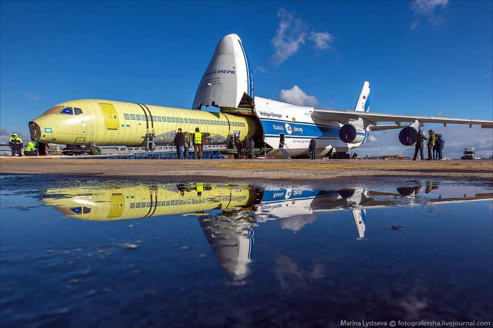 Sukhoi Superjet 100 увеличенной дальности доставлен в ЦАГИ для ресурсных испытаний