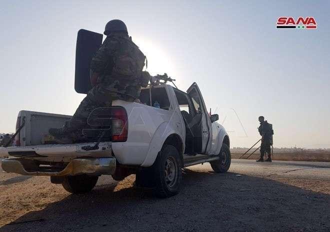 Армия Сирии занимает новые территории на севере страны (ФОТО, ВИДЕО)