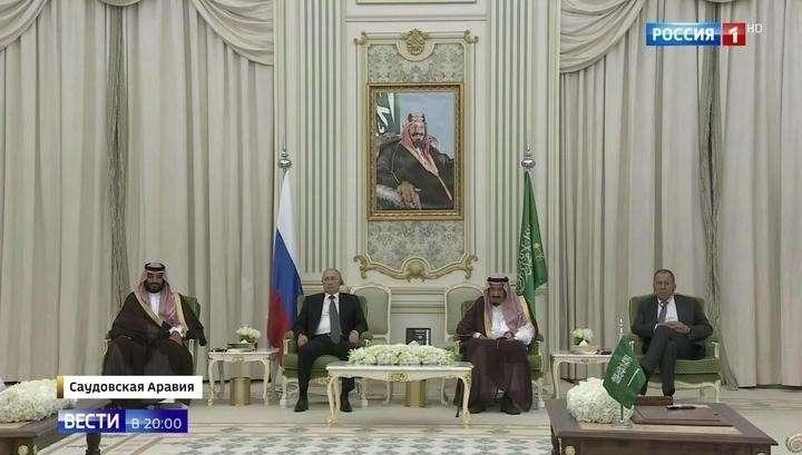 Путину в Эр-Рияде оказали королевские почести и подписали контракты на 2 млрд