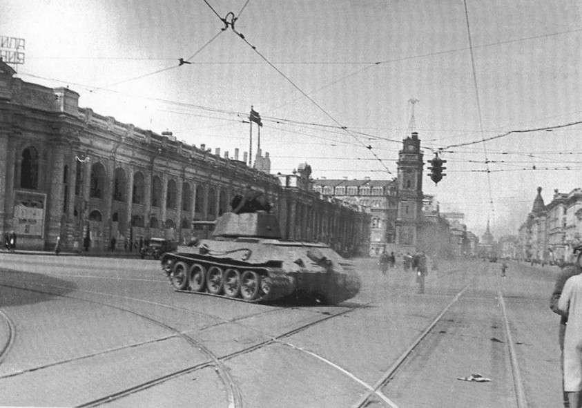 Хулиганская выходка русского танкиста Кошечкина, ставшая легендой
