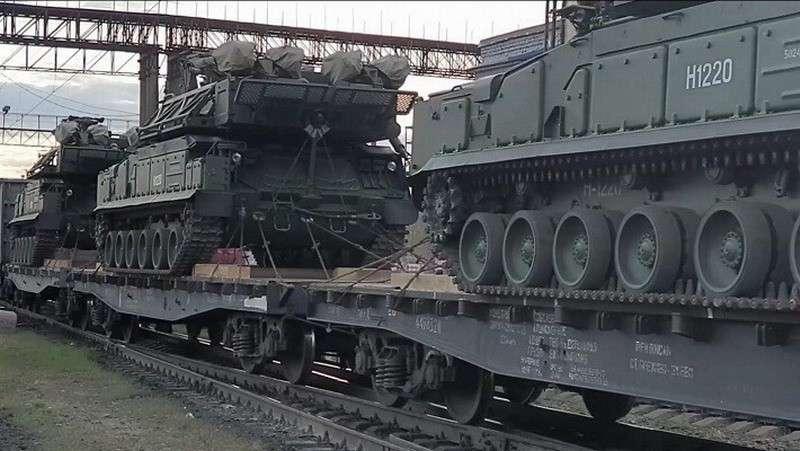 Первая партия новейших комплексов «Бук-М3» поступила на вооружение войск ЦВО