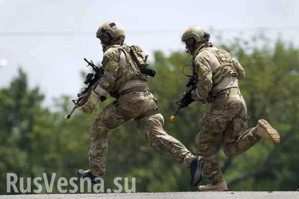 Элитный спецназ США бежал с базы в Сирии, оставив послания русской армии   Русская весна
