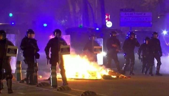 Протесты в Барселоне: 28 человек получили травмы