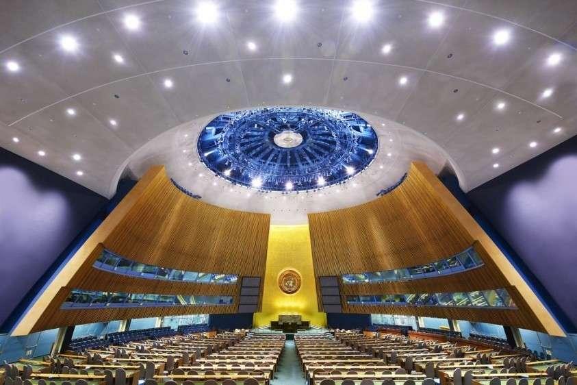 Россия официально предложила перевести Первый комитет ГА ООН из США в Европу