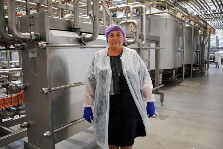 В Орле открылся молочный завод