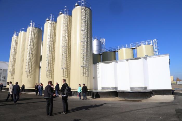 Вгороде Орле открылся молочный завод мощностью 350 тонн молока в сутки