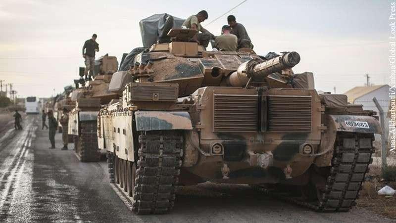 Турция пригрозила Сирии объявлением войны за защиту курдских отрядов народной самообороны