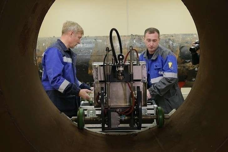 В Томске создали уникальный дефектоскоп для магистрального газопровода «Силы Сибири»