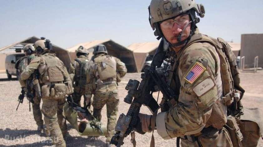 Американские оккупанты бегут: курды забрасывают камнями спецназ США и оскорбляют Америку