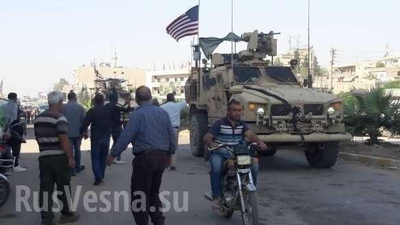 Оккупанты бегут: курды забрасывают камнями спецназ США и оскорбляют Америку (ФОТО, ВИДЕО) | Русская весна