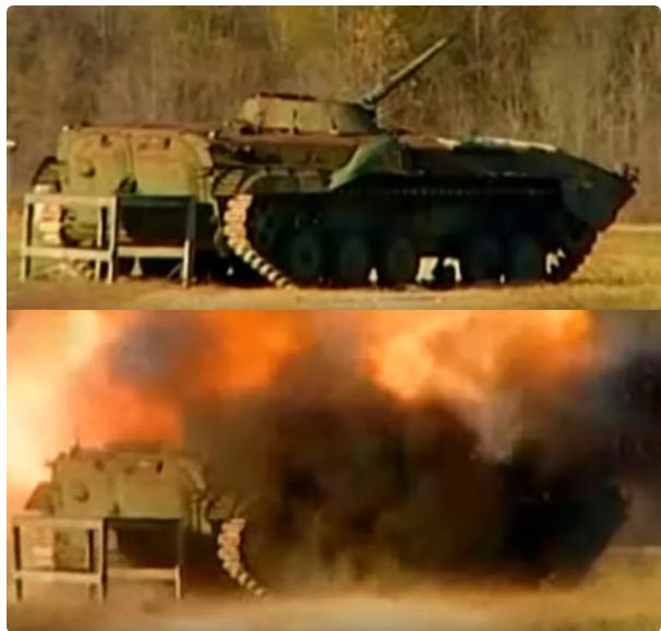 ПТРК «Джавелин» разносит на куски Т-72. Попытка обмана американцам не удалась