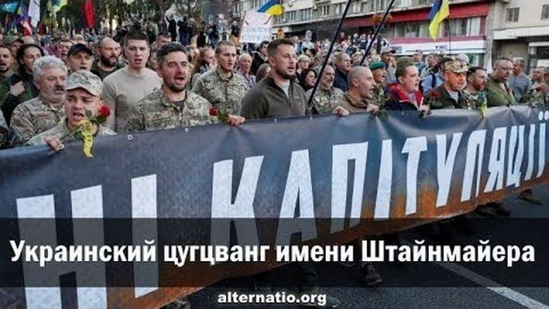 Украинский цугцванг имени Штайнмайера. Андрей Ваджра