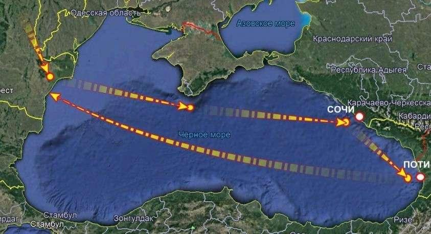 Стратегические бомбардировщики США отработали ядерный удар по Крыму, в 50 км. от резиденции Путина