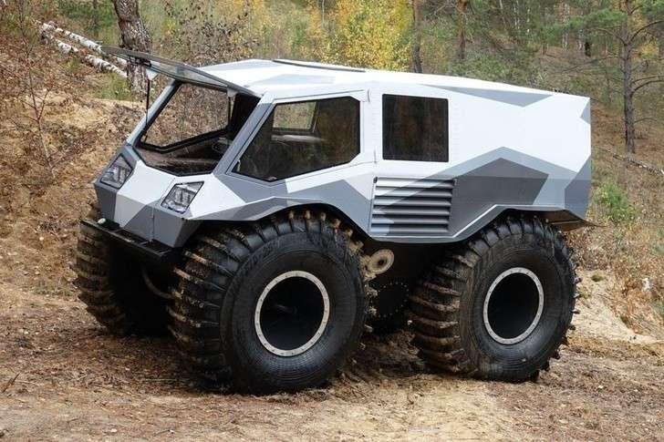 Российский создатель «лучшего в мире вездехода» построил новую машину