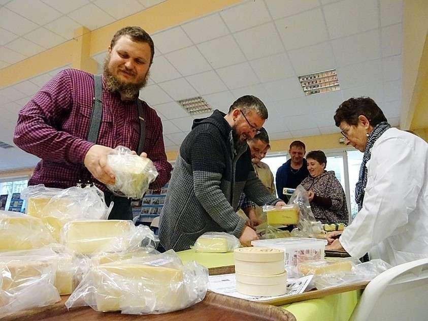 Сборная российских сыроваров взяла сразу 7 медалей Фото: Алексей ОВЧИННИКОВ