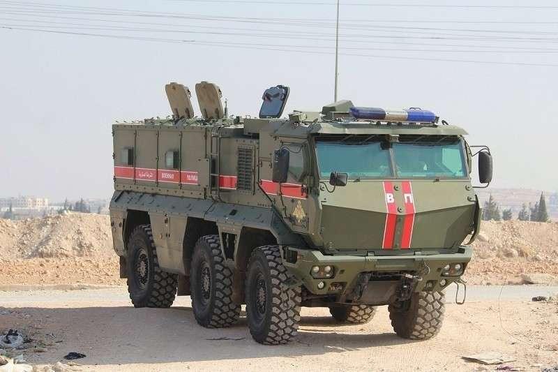 В Сирию прибыли около 300 российских военных полицейских