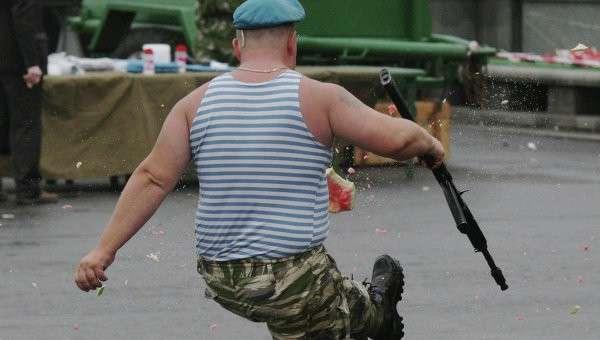 Житомир оккупировали пьяные десантники