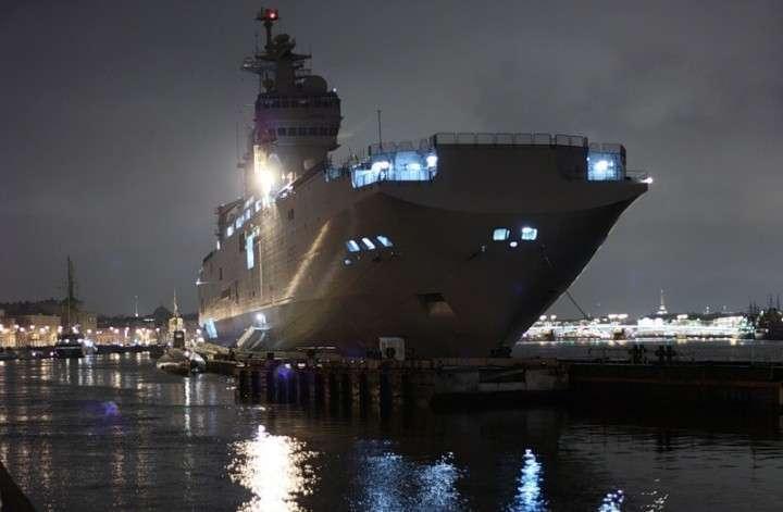 Всего бюджета НАТО не хватит выкупить «Мистраль»