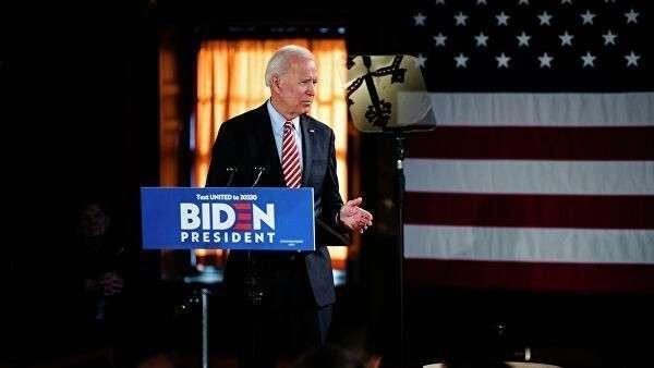 Кандидат в президенты США Джо Байден во время предвыборной кампании. 23 октября 2019