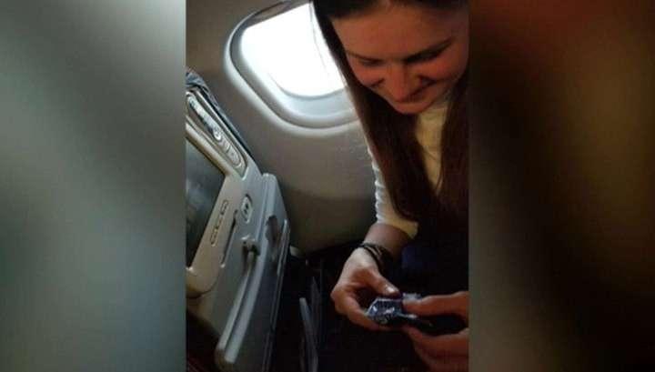 Экипаж самолета угостил Марию Бутину тульским пряником и перевел в бизнес-класс