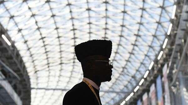 Участник экономического форума Россия – Африка в Сочи