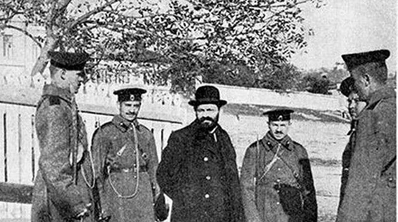 В Киеве 28 октября 1913 г. завершилось дело о ритуальном убийстве Андрея Ющинского