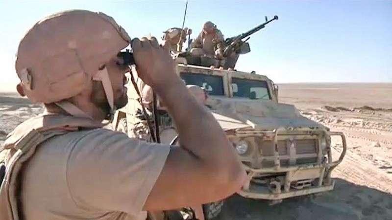 Русские «Тигры» и огромные колонны правительственных войск входят в бывшую столицу ИГИЛ