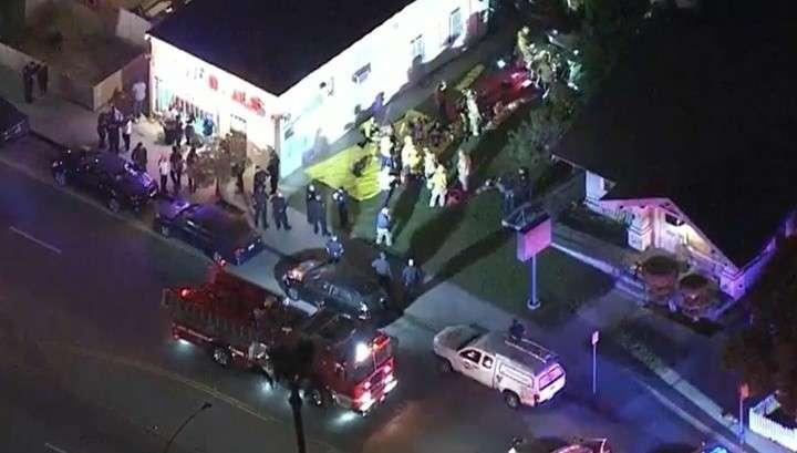 В Калифорнии американцы устроили кровавую бойню на вечеринке в честь Хэллоуина