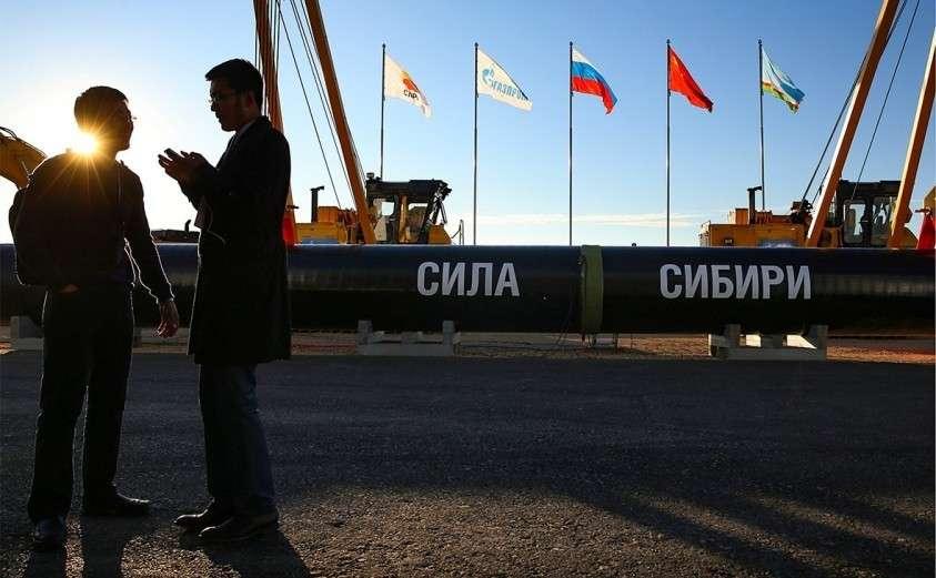 «Газпром» завершил заполнение газом трубопровода «Сила Сибири»
